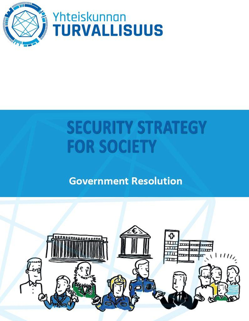 Security Strategy for Society 2017